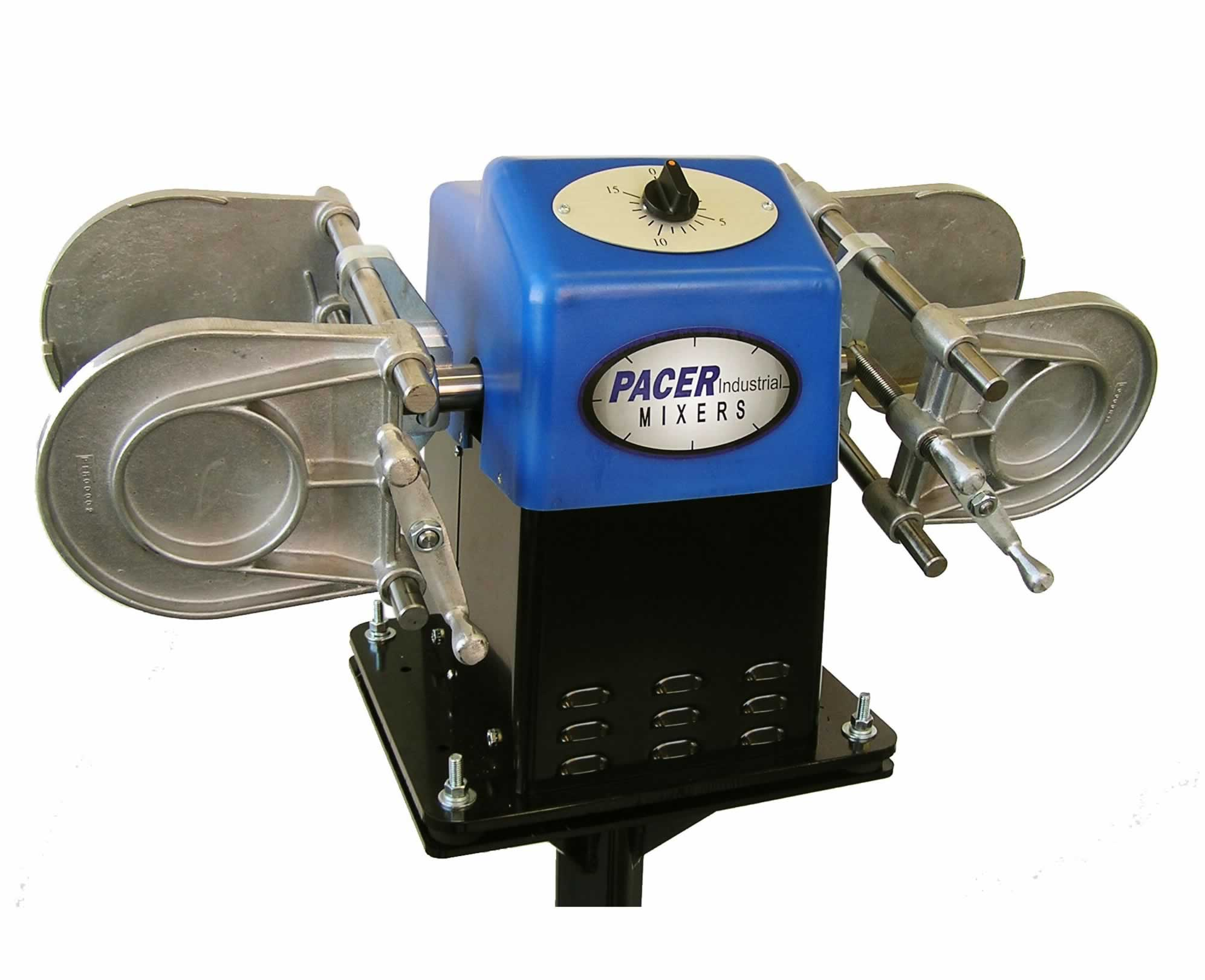 Pacer Dual 15 Industrial Paint Mixer Shaker Miracle New Electric Adaptor Pompa Galon